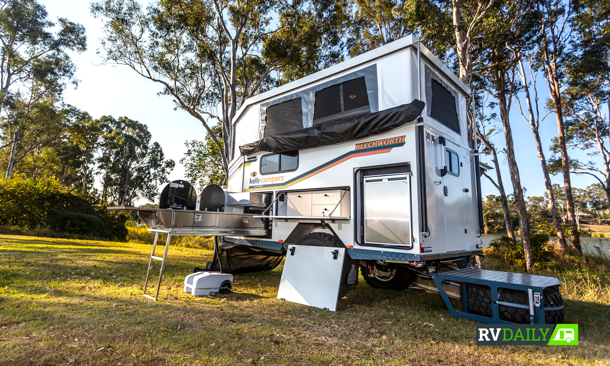 The camper that would have kept Ned safe…