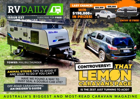 ISSUE 037 – Controversy: THAT lemons caravan page