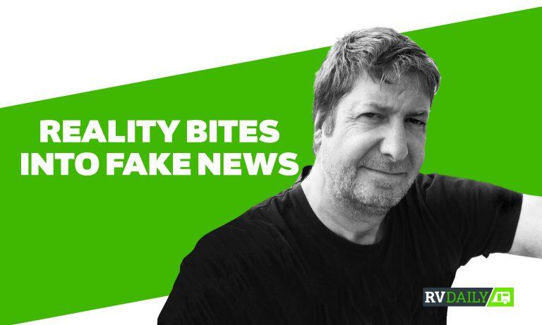 Reality bites into fake news