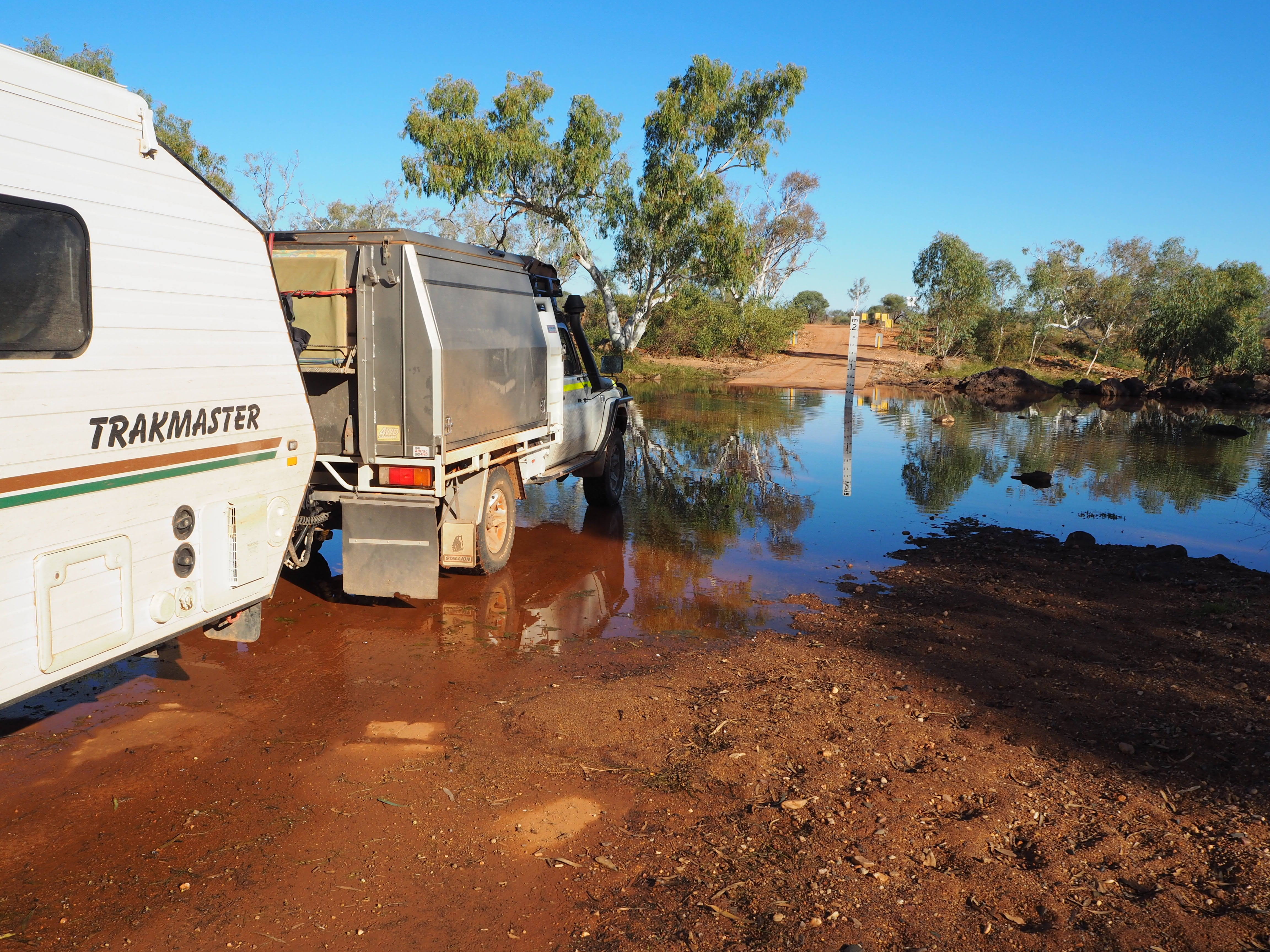 Go remote, be in control: The insider's guide to off-road caravanning