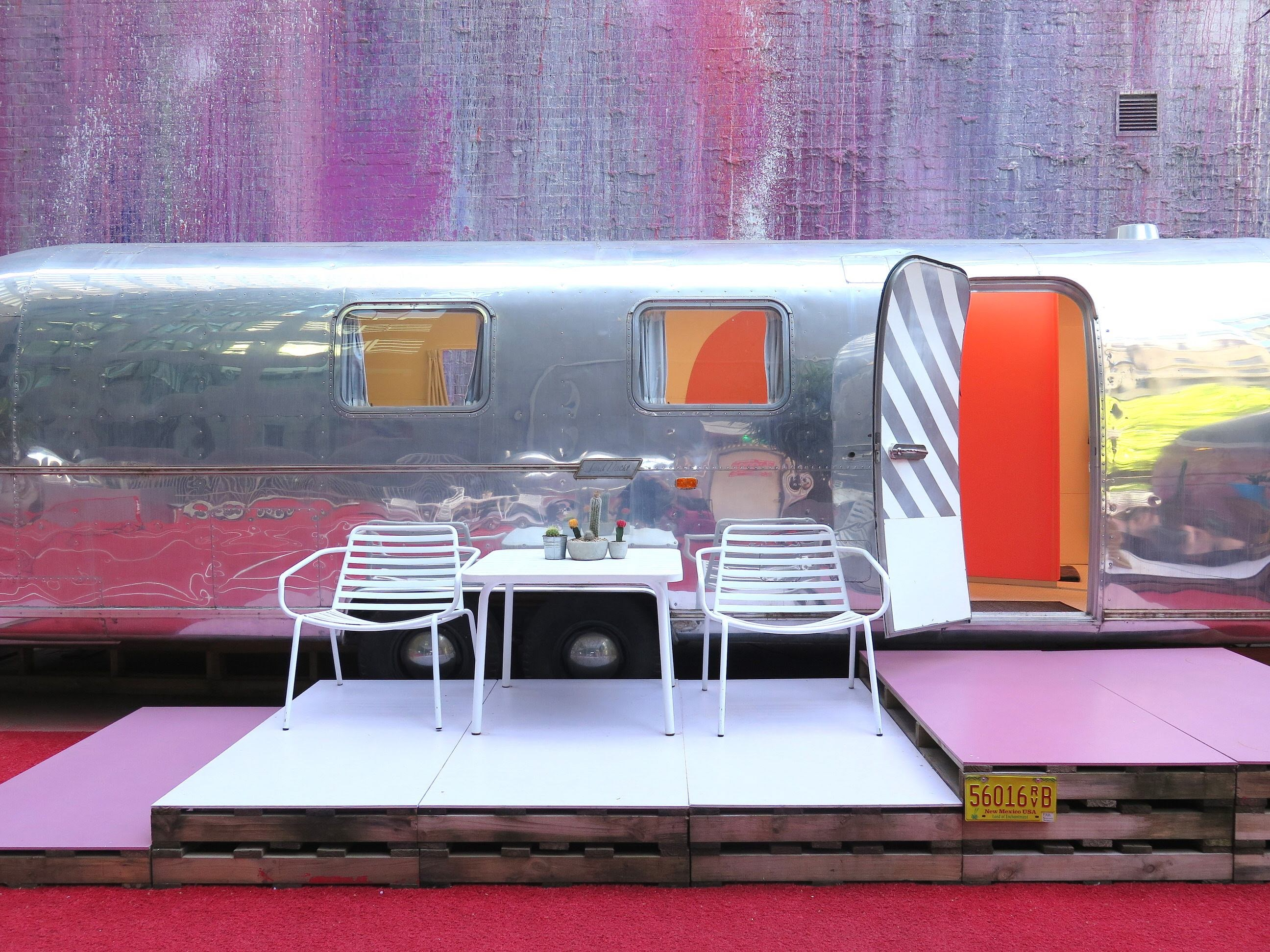Would you stay in one of these boutique caravans?
