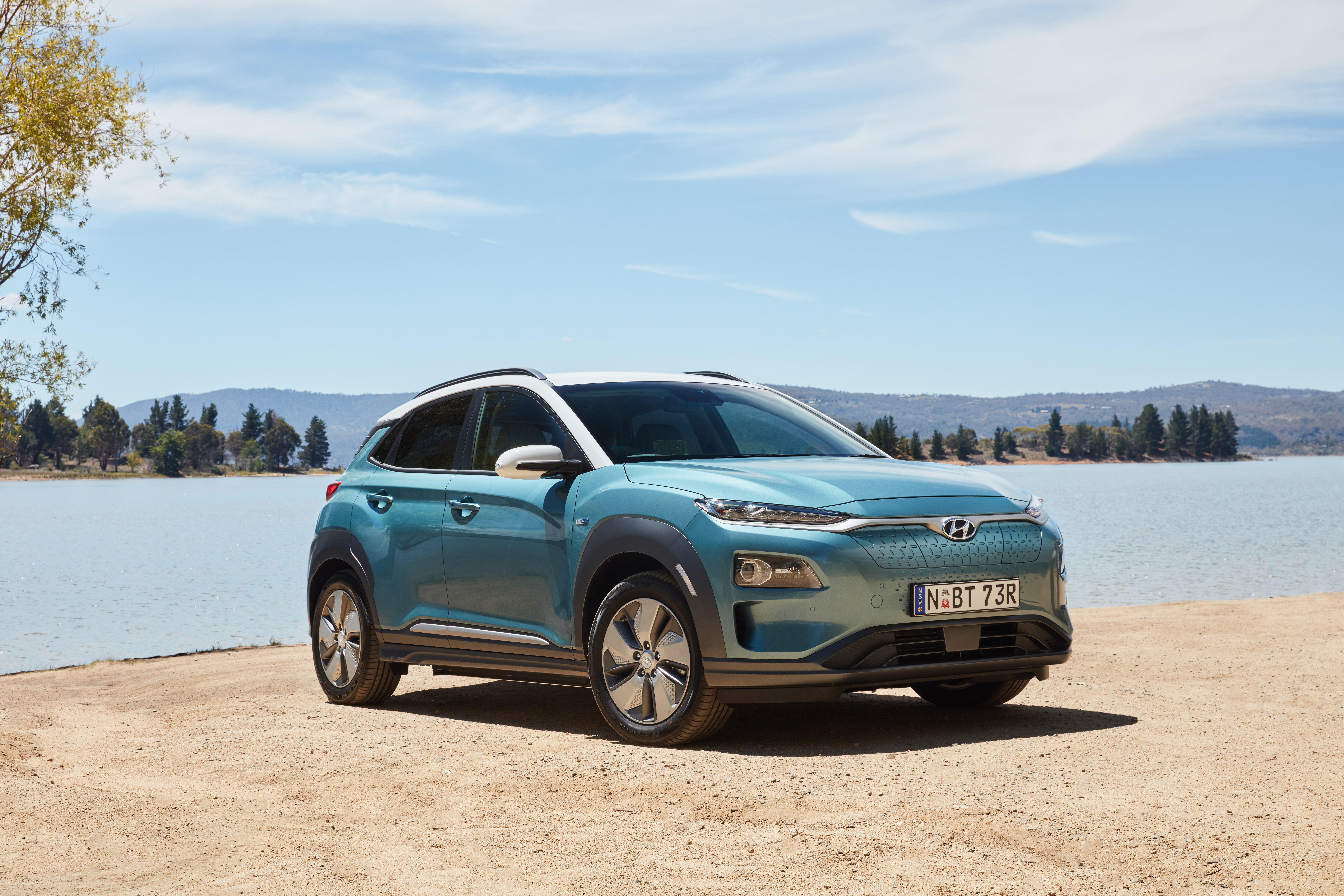 Electric SUVs from Hyundai and Mercedes