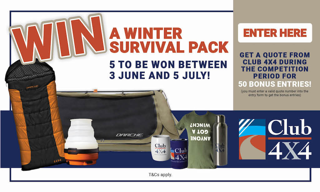 Win a Winter Survival Pack!