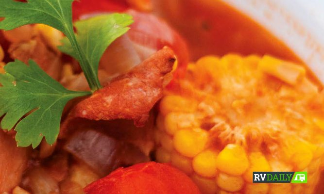 Recipe: Shearer's Potted Corn and Bacon