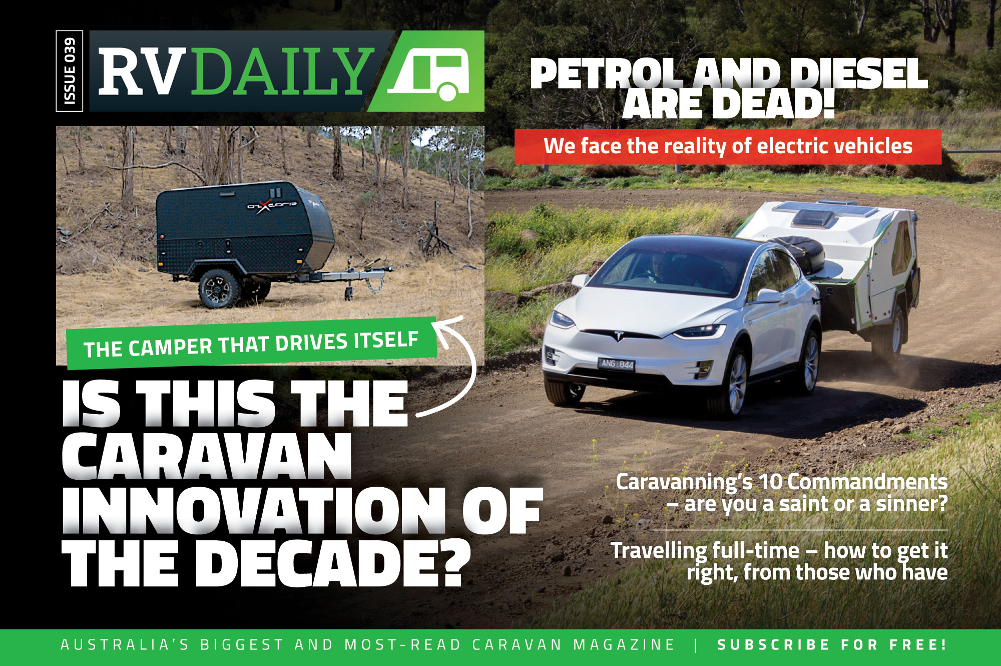 ISSUE 039 – Is this the caravan innovation of the decade?
