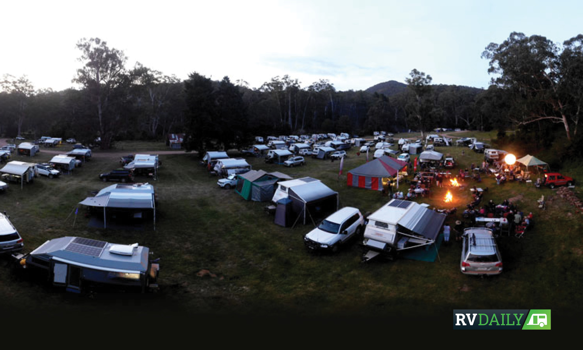 AOR owners gather for a fry-up in Victoria