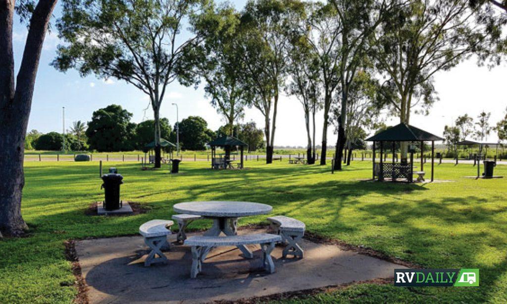 bush camps -Guthalungra Rest Area
