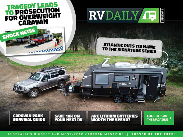 ISSUE 041 – Tragedy leads to prosecution for overweight caravan