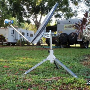Satellite TV and why it's now a caravan must-have