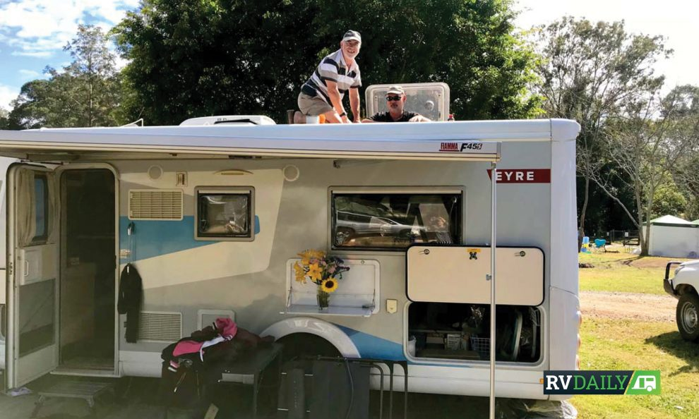 How to keep you RV roof in top repair