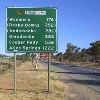 Stuart Highway closed as Woomera Prohibited Area fires up