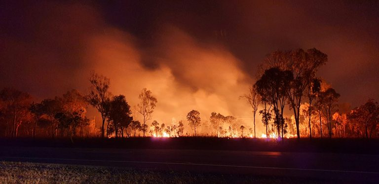Bushfire season arrives early this year