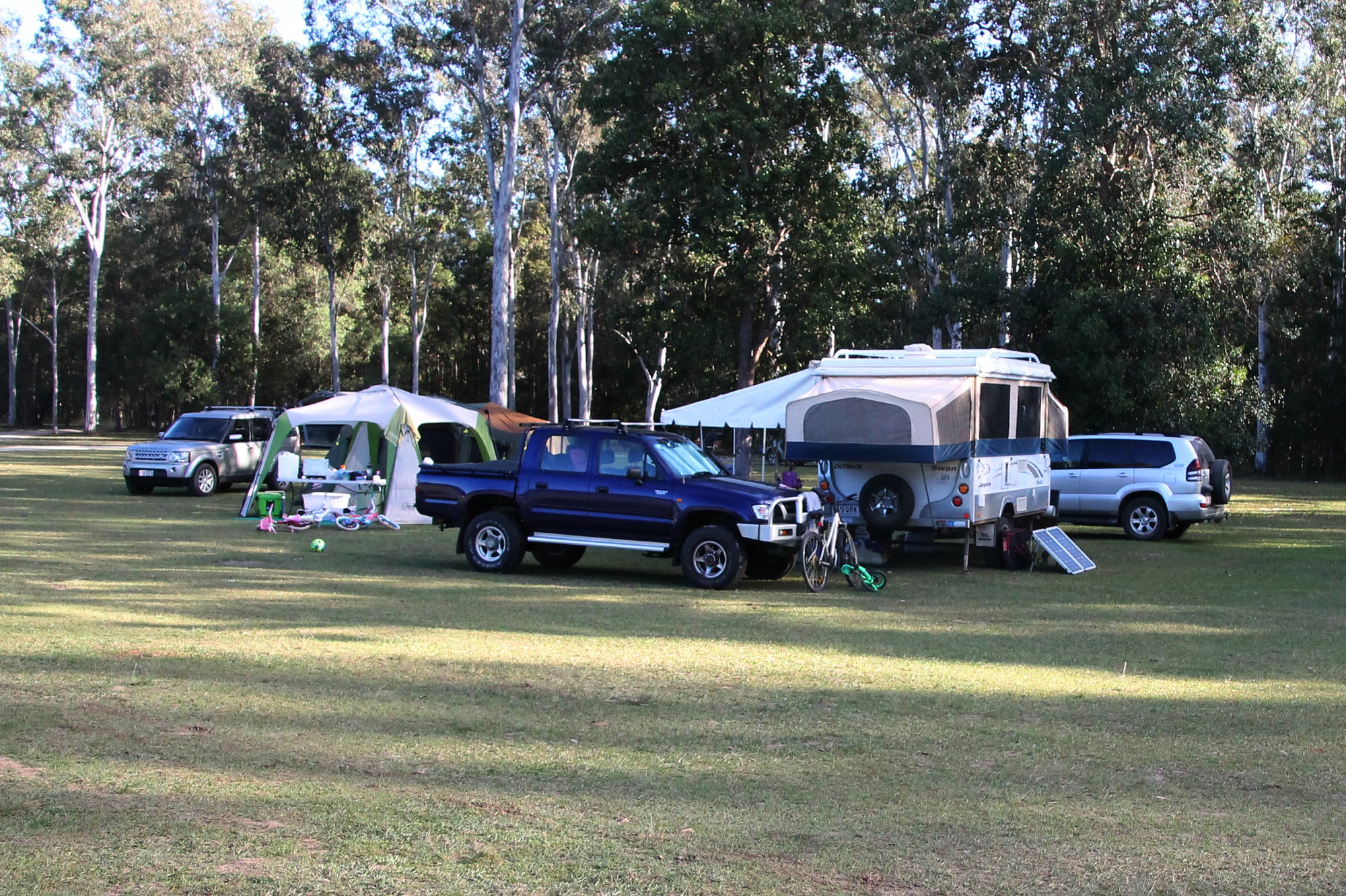 Served a dose of camping karma at Conondale and Kenilworth