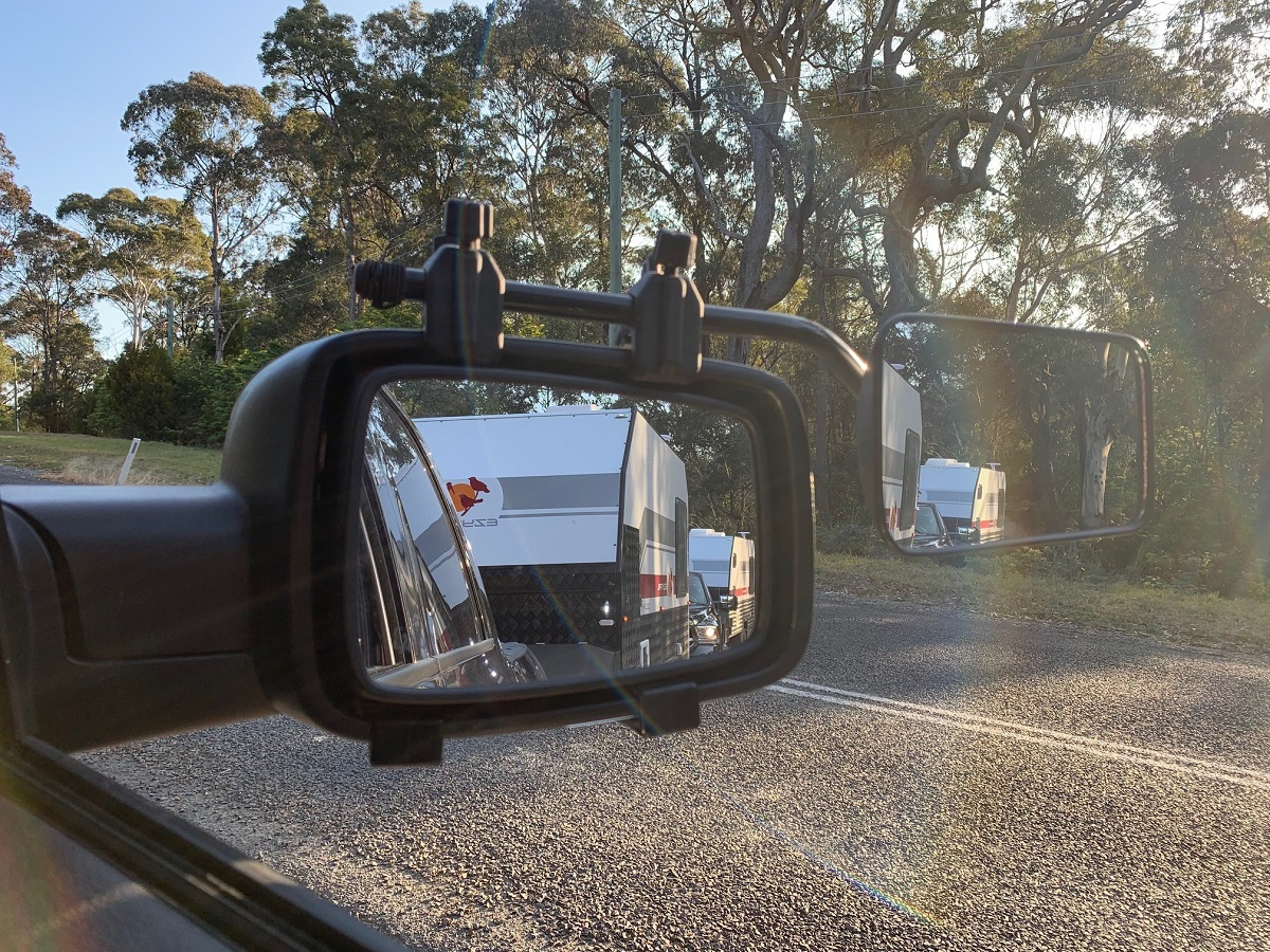 Essential gear - Camec clip-on towing mirrors