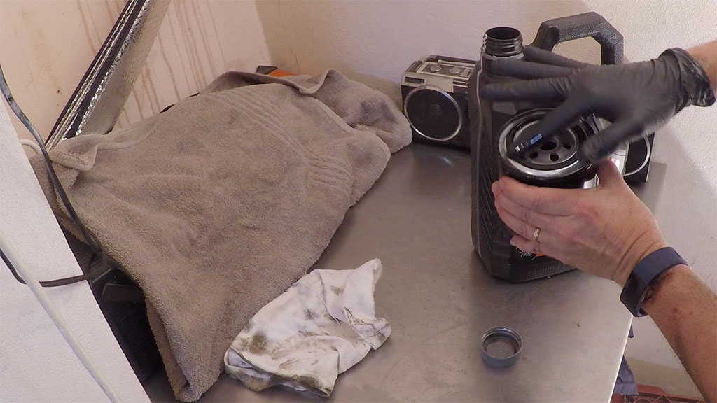 6 Wipe A Smear Of Fresh Engine Oil On The New Oil Filter Gasket