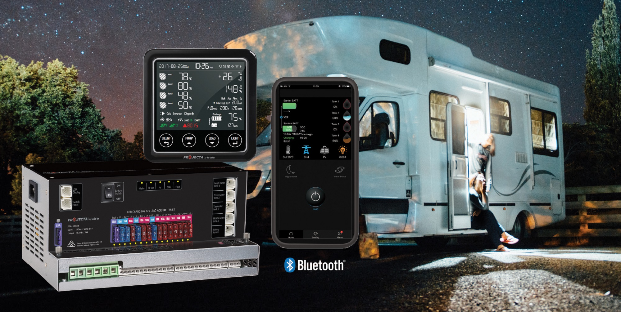 Projecta Intelli-RV Pm300 Bt Includes Bluetooth
