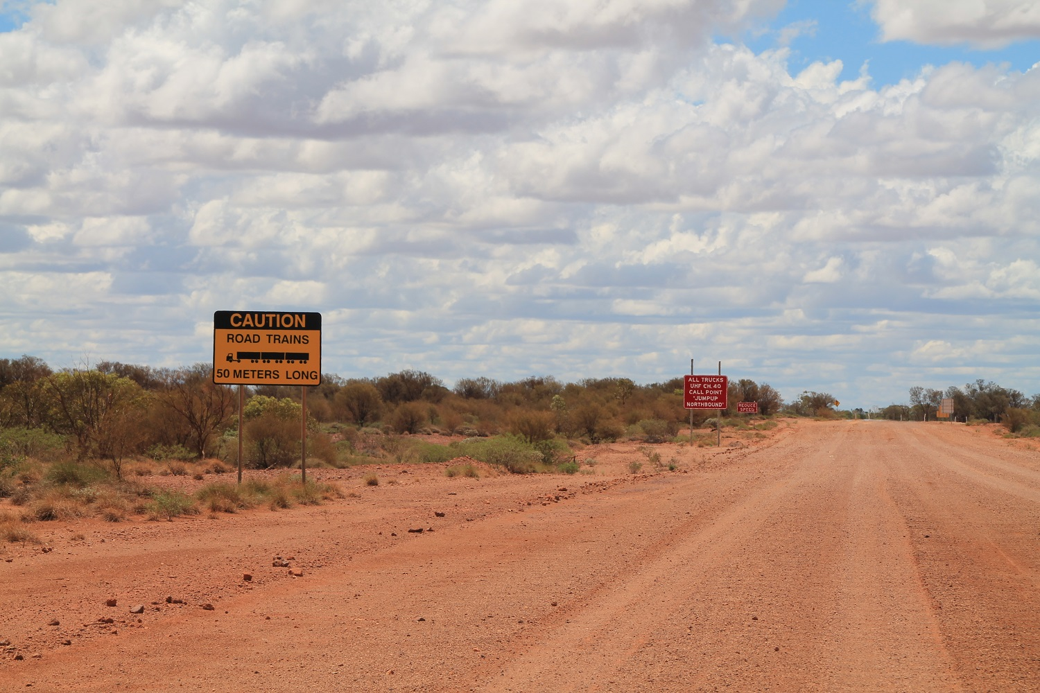 The Scene Of The Almost Crime, 100kms From Winton