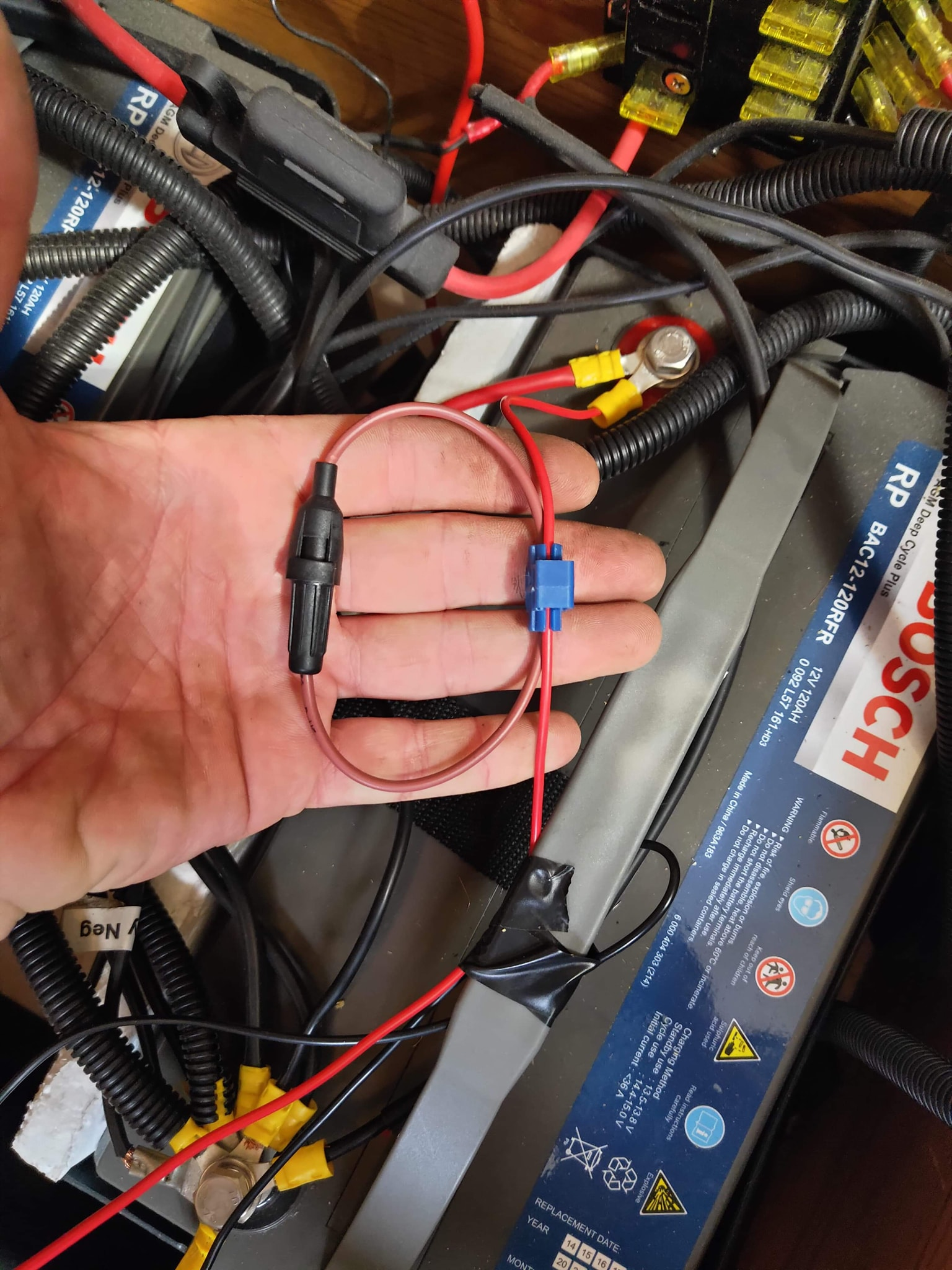 Quick tip – Have your RV electrical wiring checked professionally.