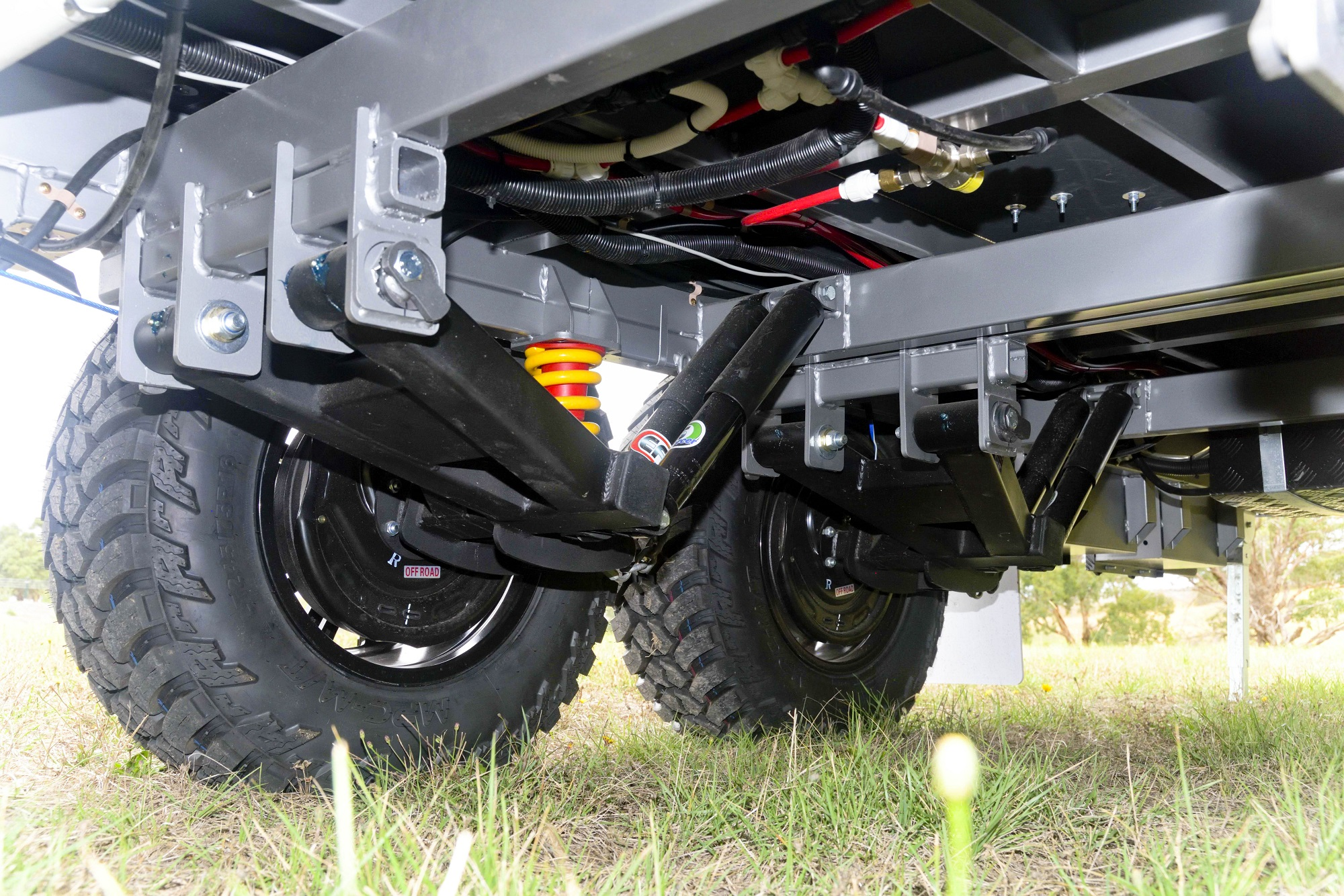 Tuff Ride suspension