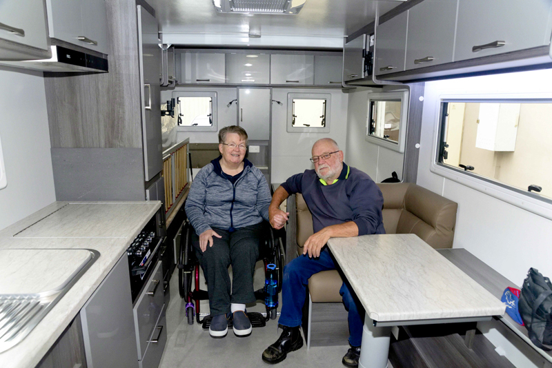 Wheelchair touring with AccessAvan and Coronet RV