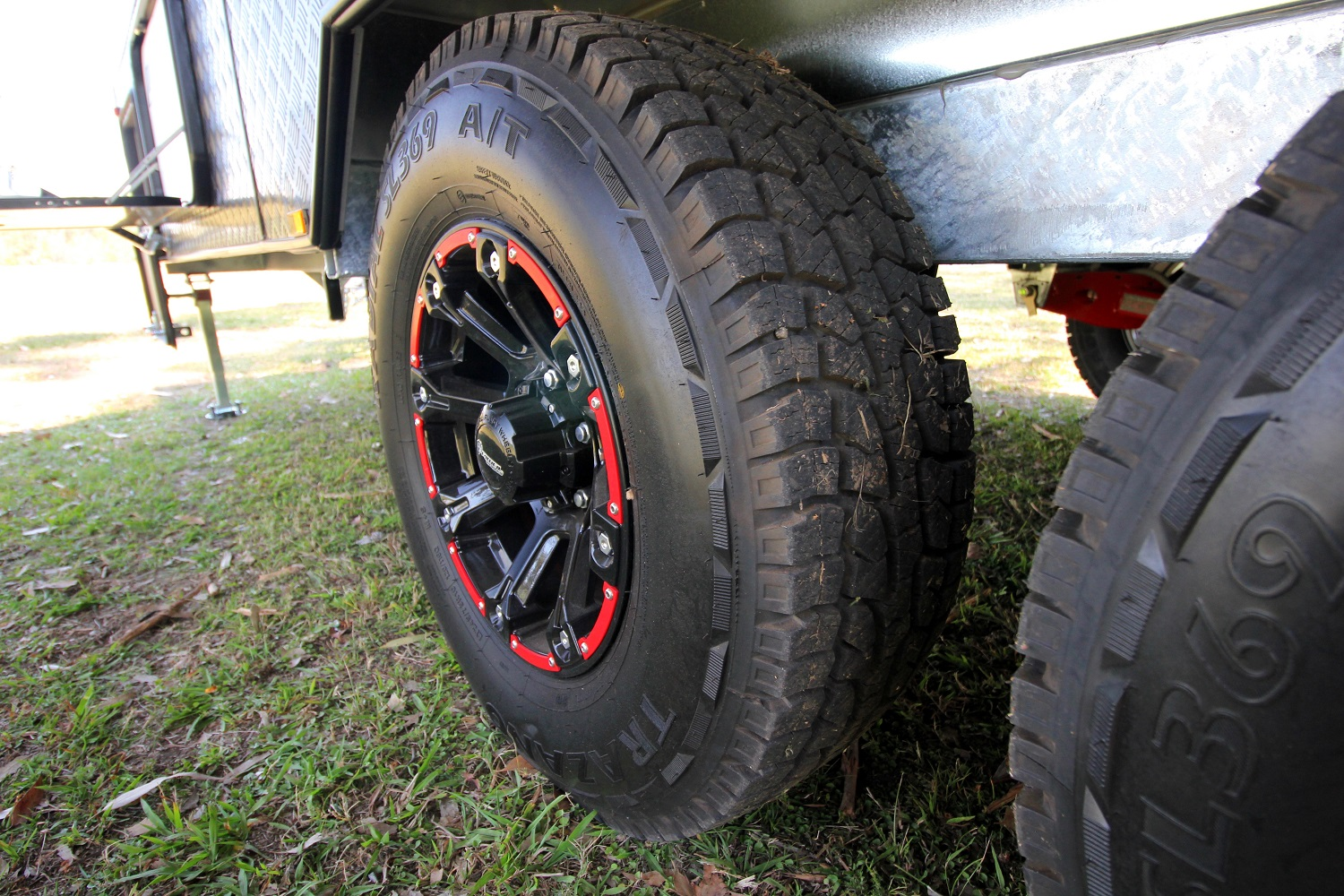 All Terrain Tyres In A Lt Construction Is All An Off Road Caravan Needs