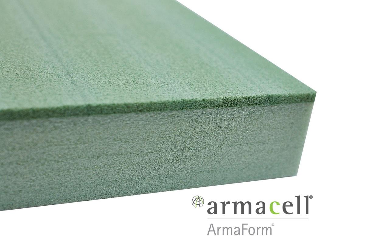 Composite sandwich panel filling Armaform Mc 2