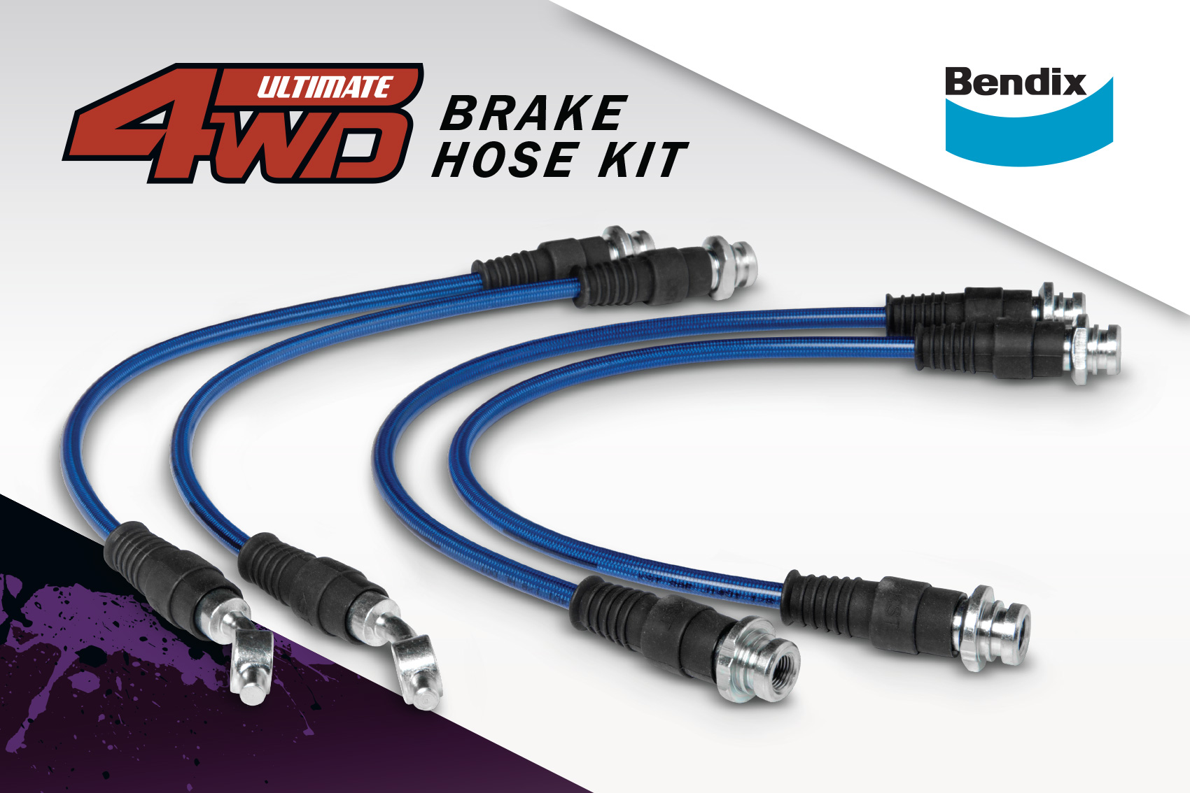 Bendix 4wd Braided Brake Hose