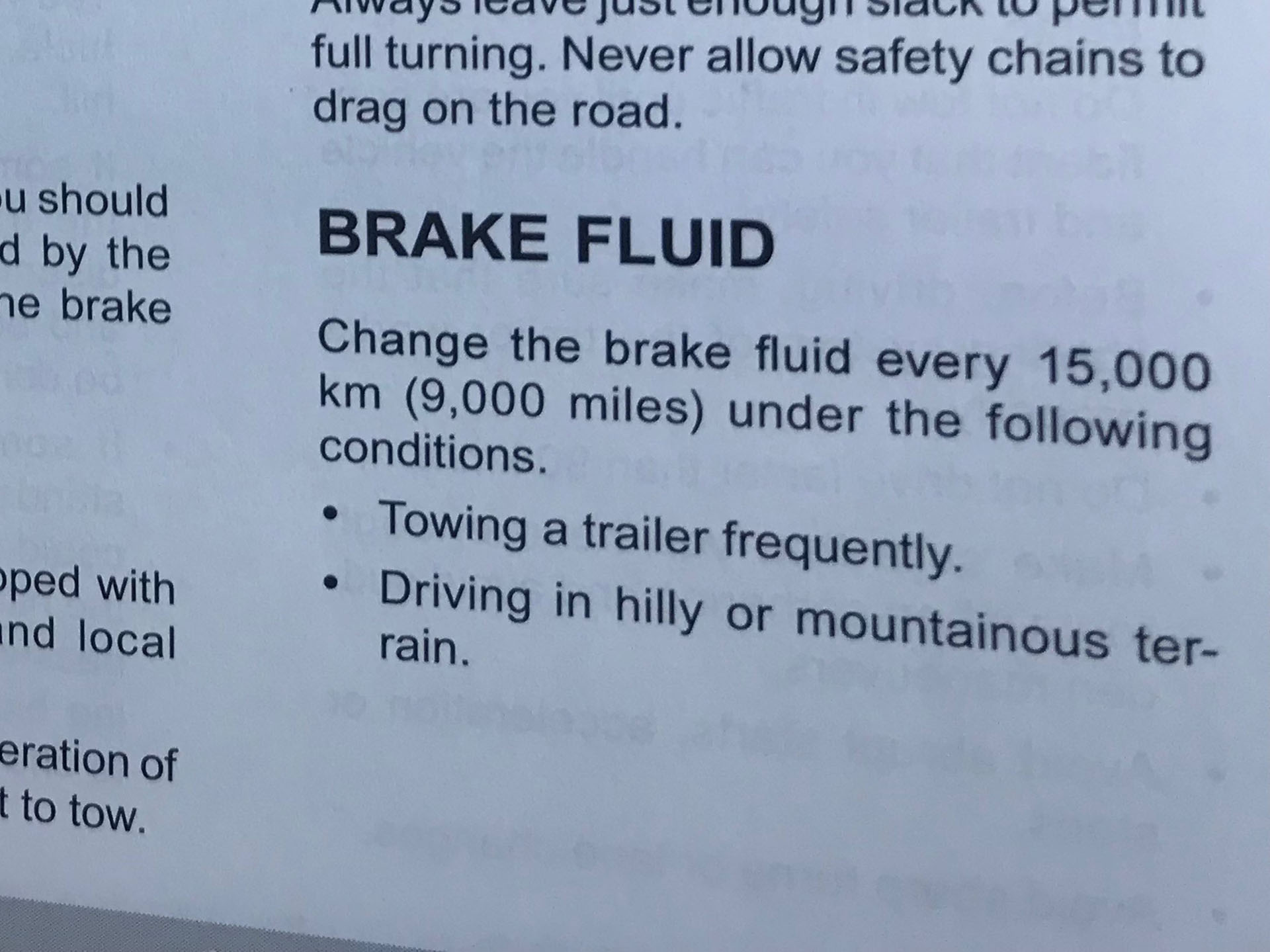 Brake Fluid Should Be Changed More Often In Some Tow Vehicles