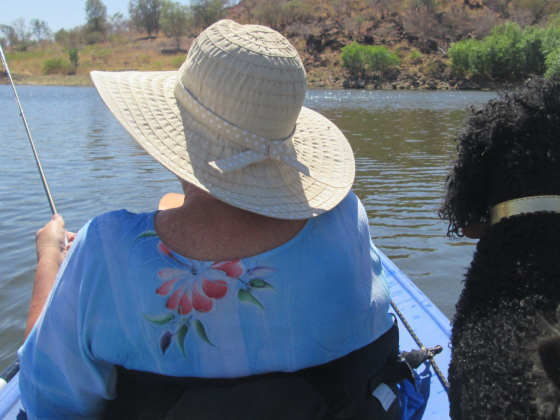Canoeing with the dog