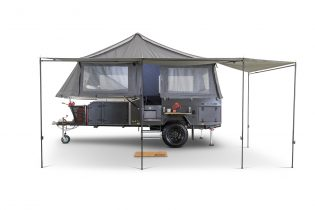 Cub premieres new camper, the lightweight, forward-fold Scout