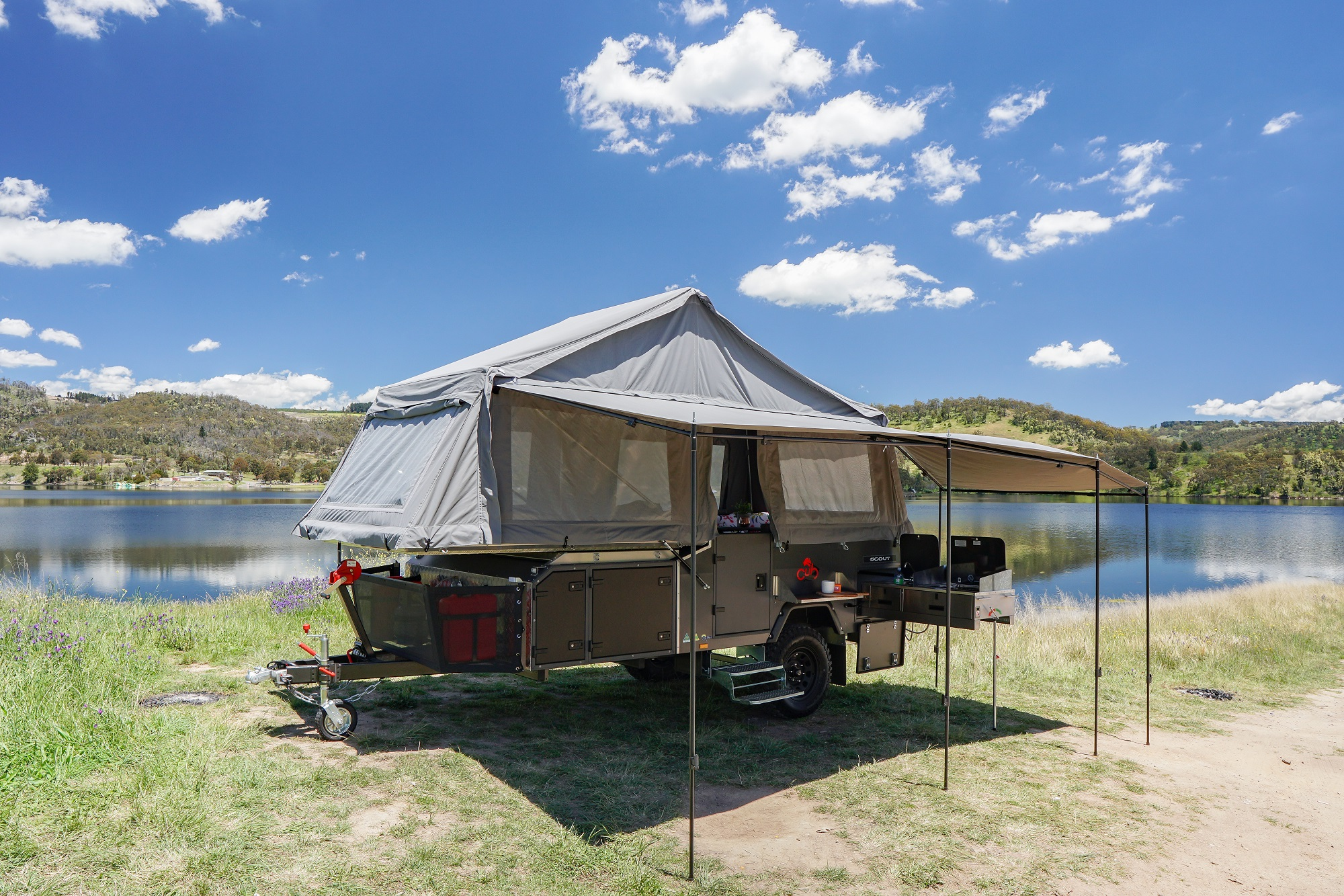 Camper review: Cub's new lightweight forward-fold Scout