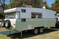 Vintage caravan restoration – 1974 Viscount Royal 'Sage'