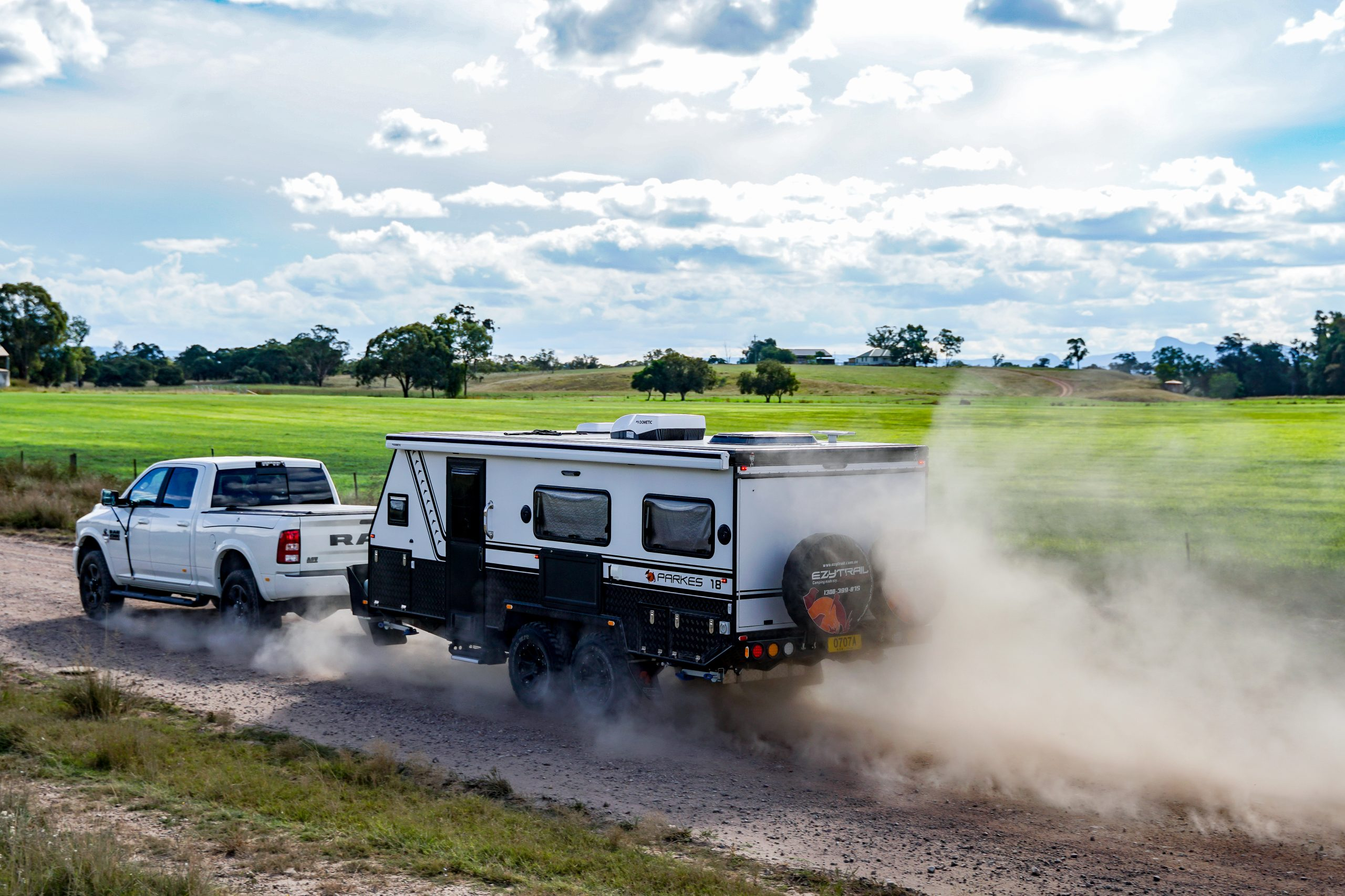 How to keep the track debris off the front of your trailer, part two