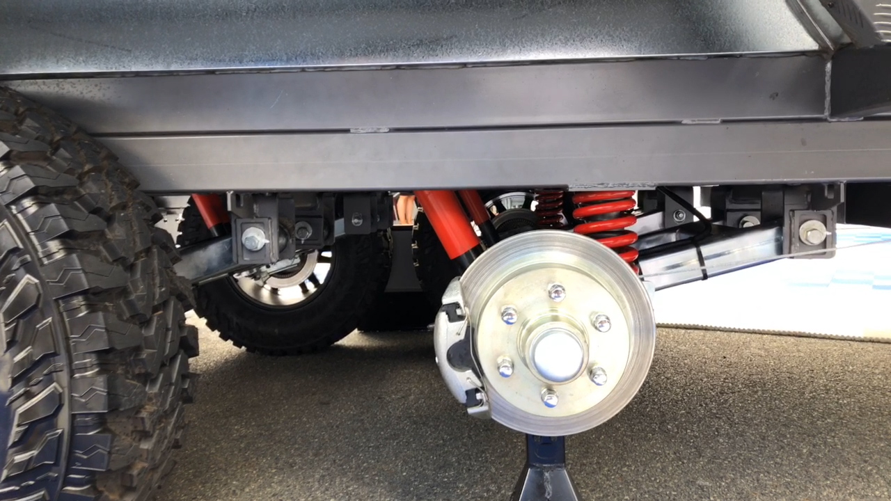 AL-KO Disc Brakes on a Sunseeker van