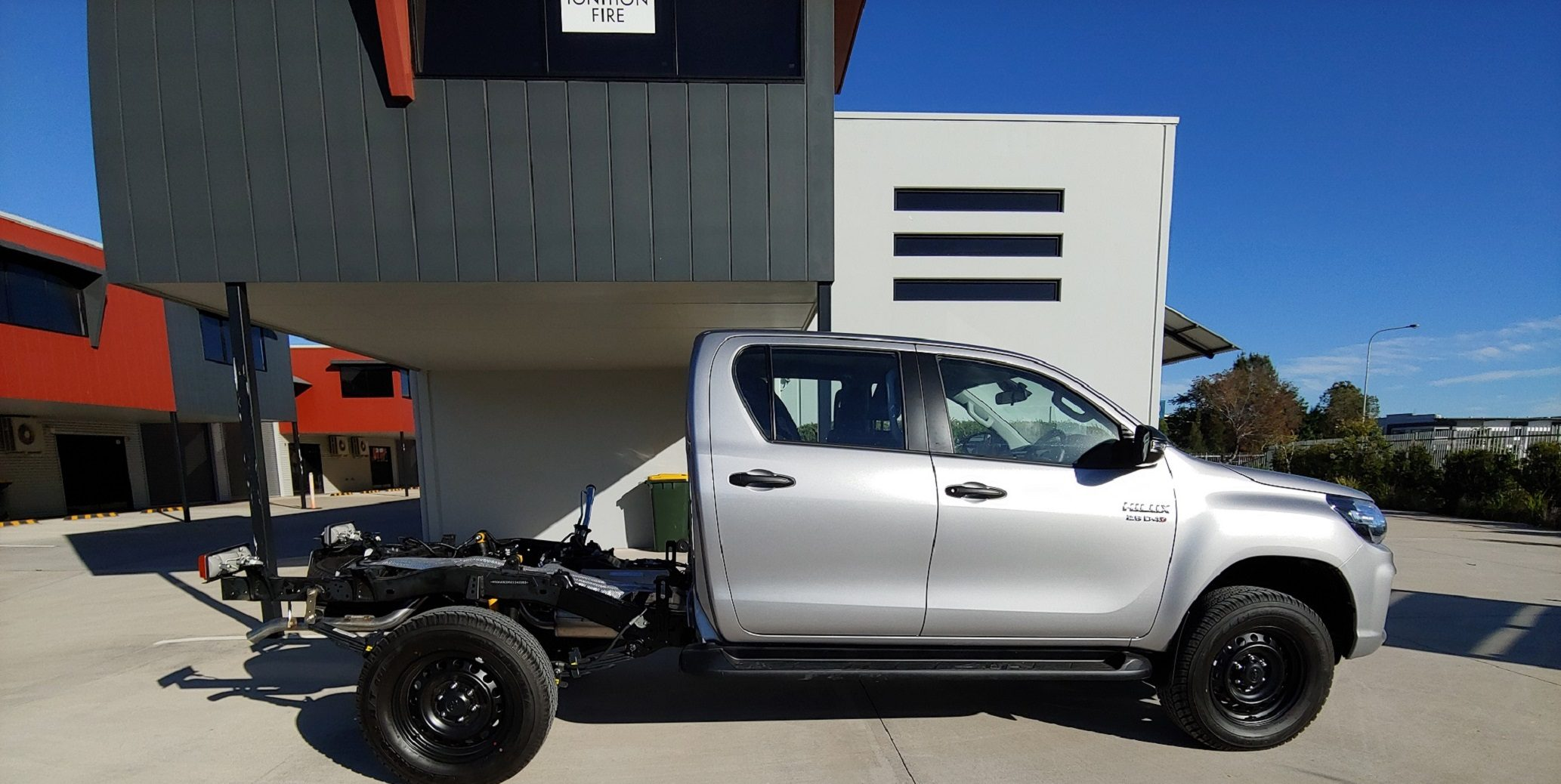 Extended Hilux