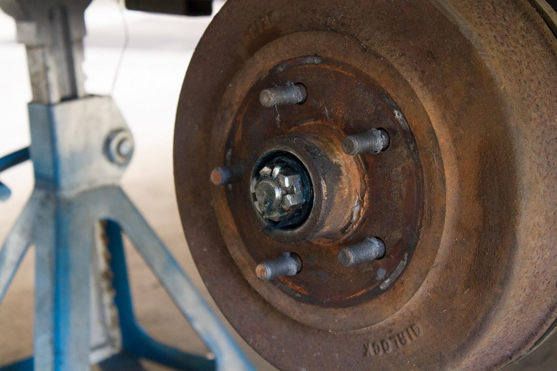 caravan wheel studs