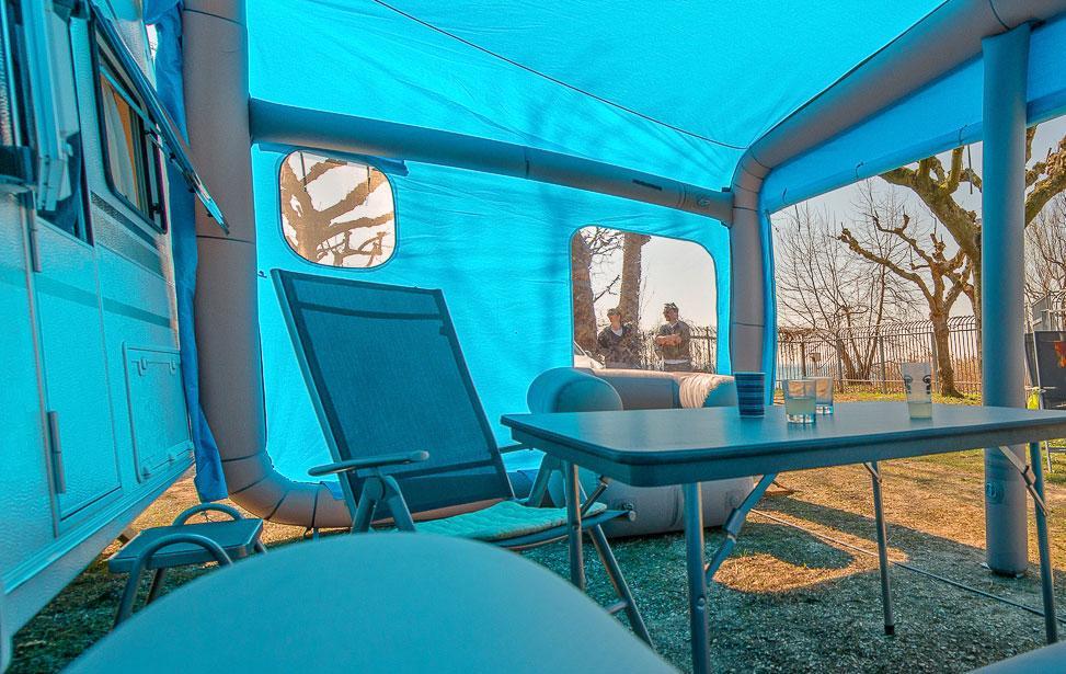 Gentle Tent Caravan Awning