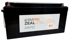 BMPRO has extended its range of lithium batteries, with Zeal
