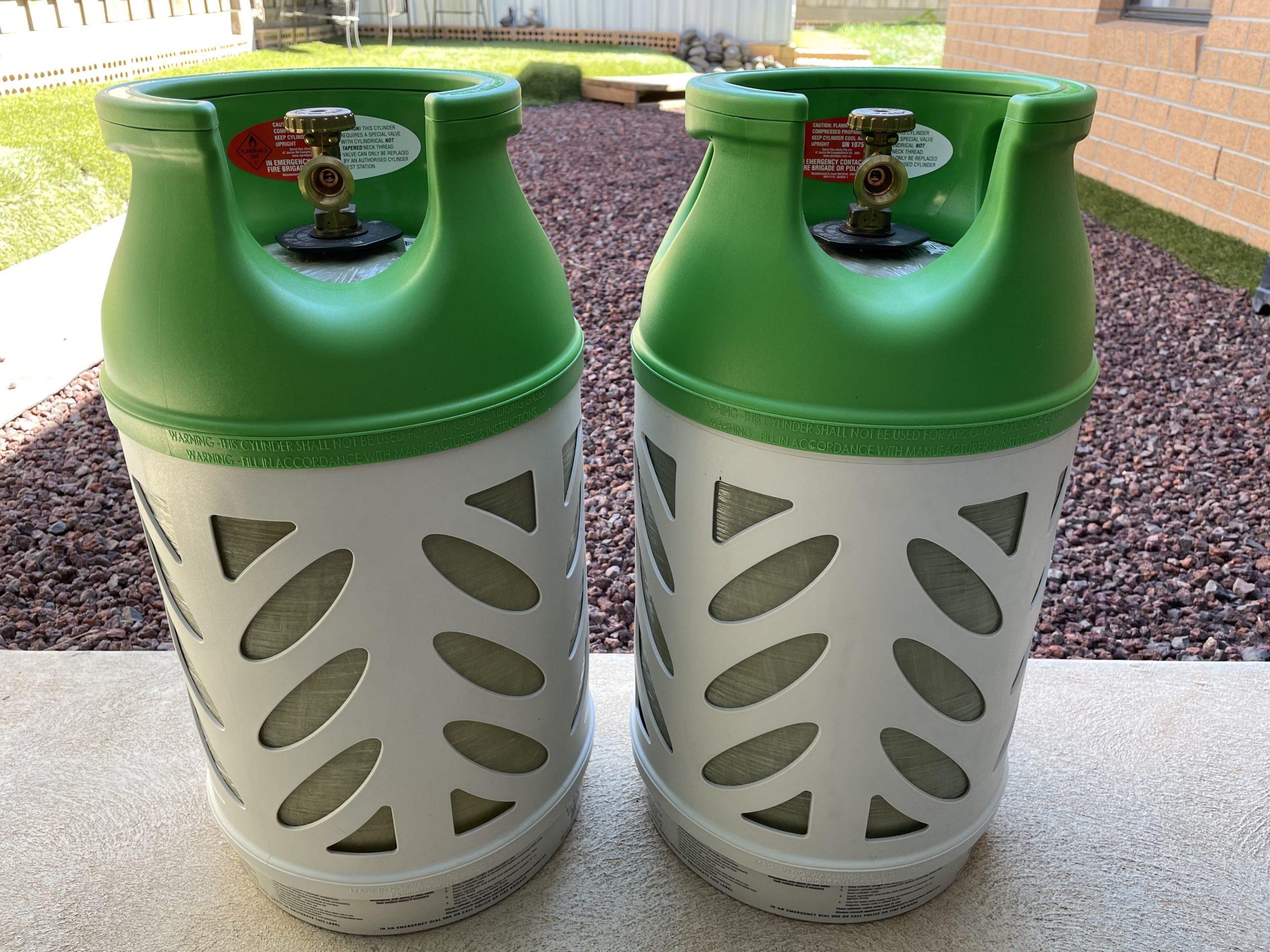 Plastic Fantastic – Regasco Composite LPG Gas Bottles