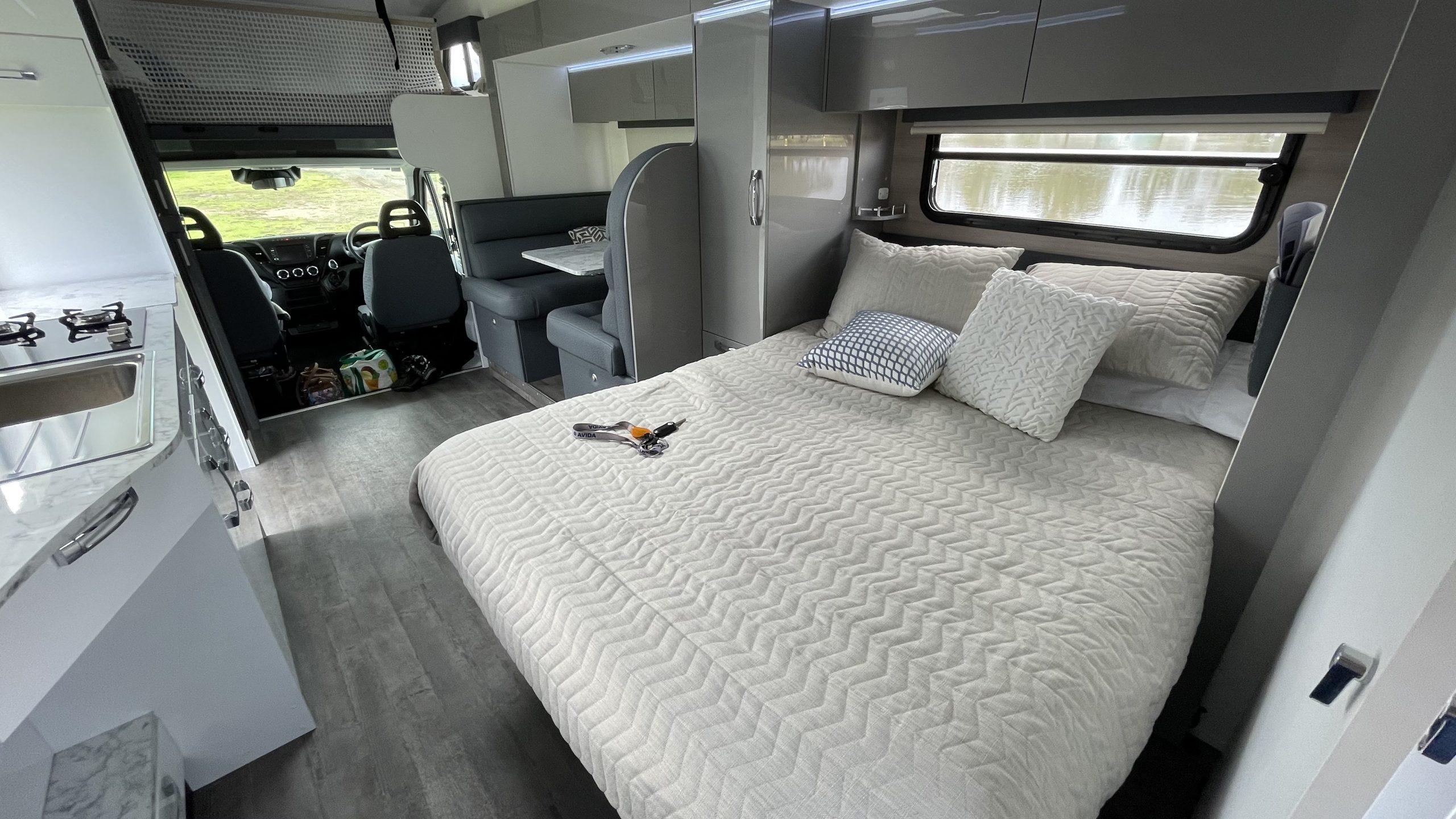 Avida Busselton review - spacious interior