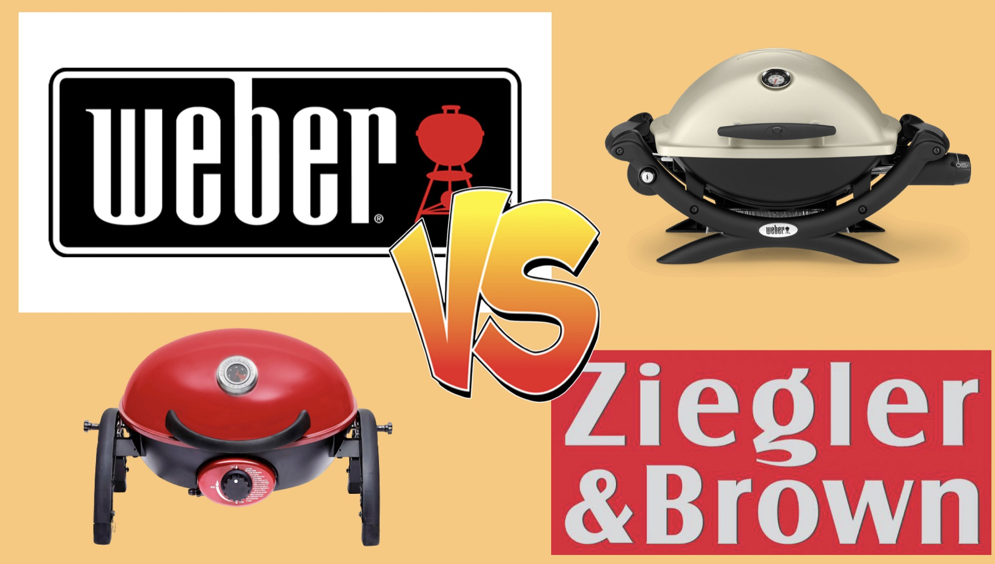 BBQ Grudge Match: Weber vs Ziggy