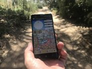 Off-road GPS navigation for cheapskates