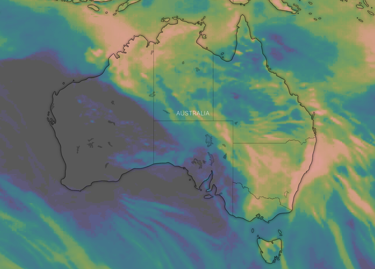 rain event - Windy 10 day rainfall