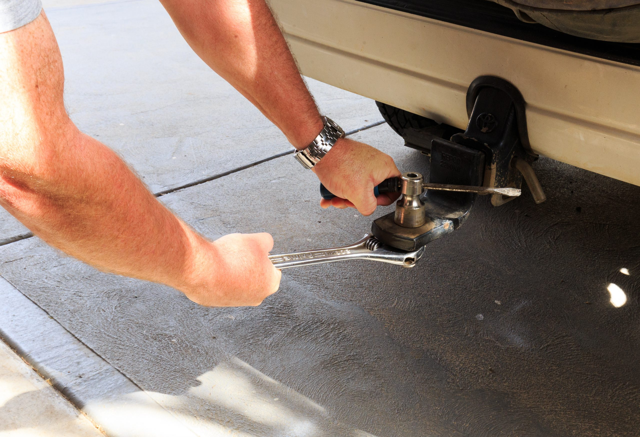 A large shifter is an essential RV tool