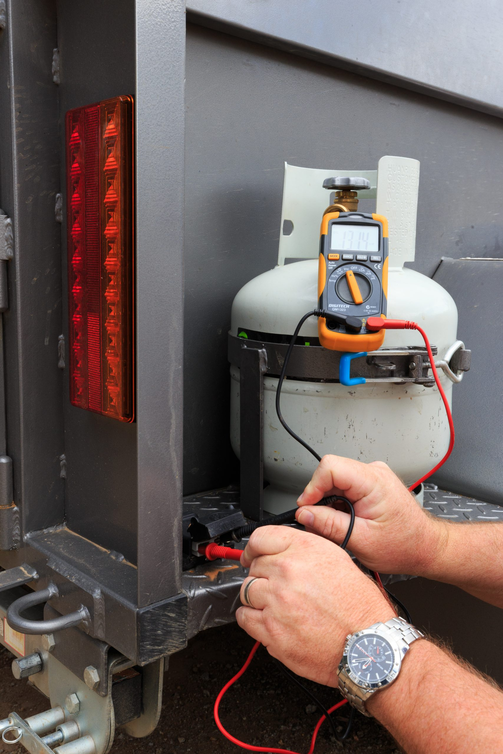 An electrical circuit tester is an RV essential tool