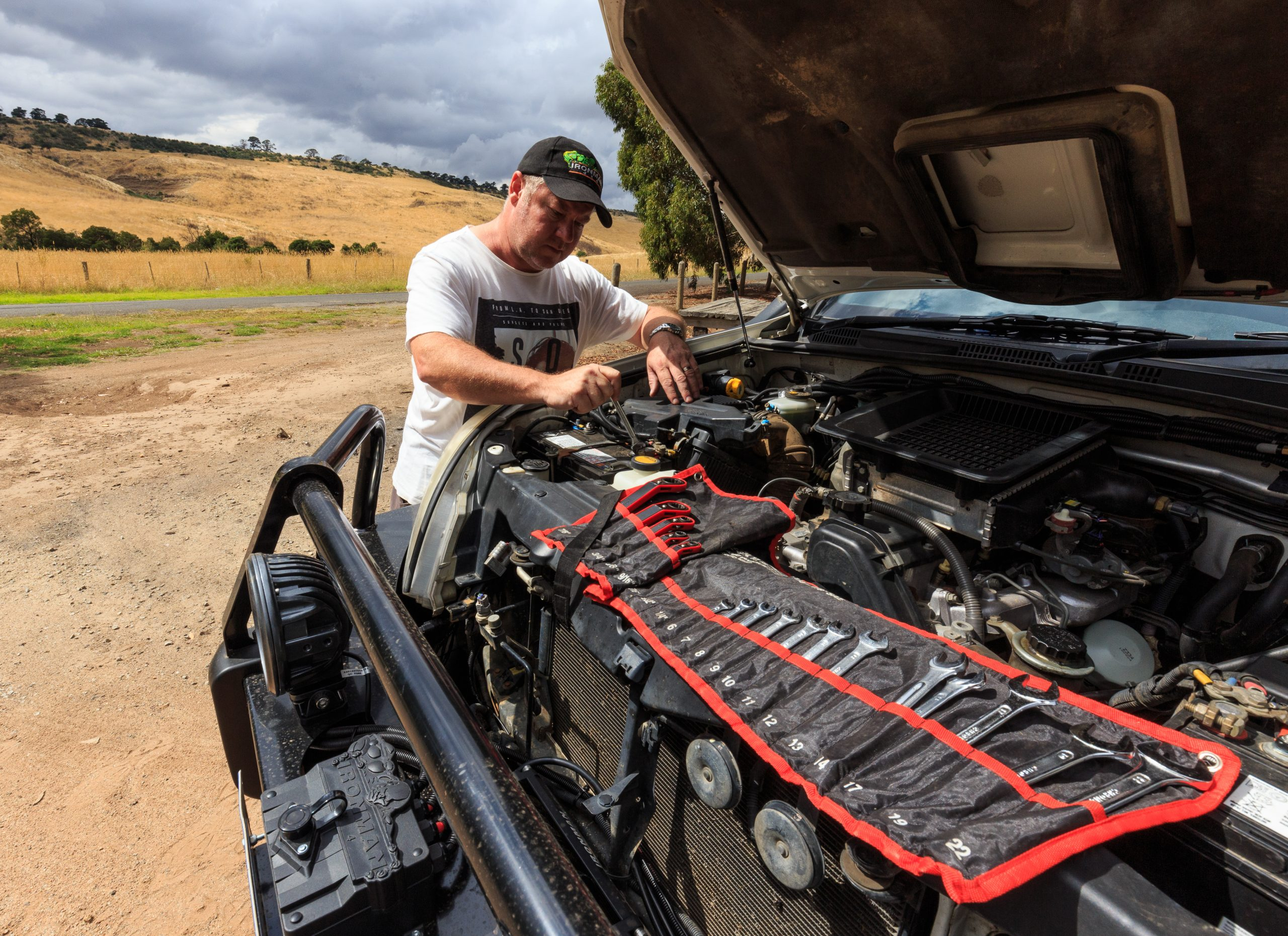 A spanner is an RV essential tool