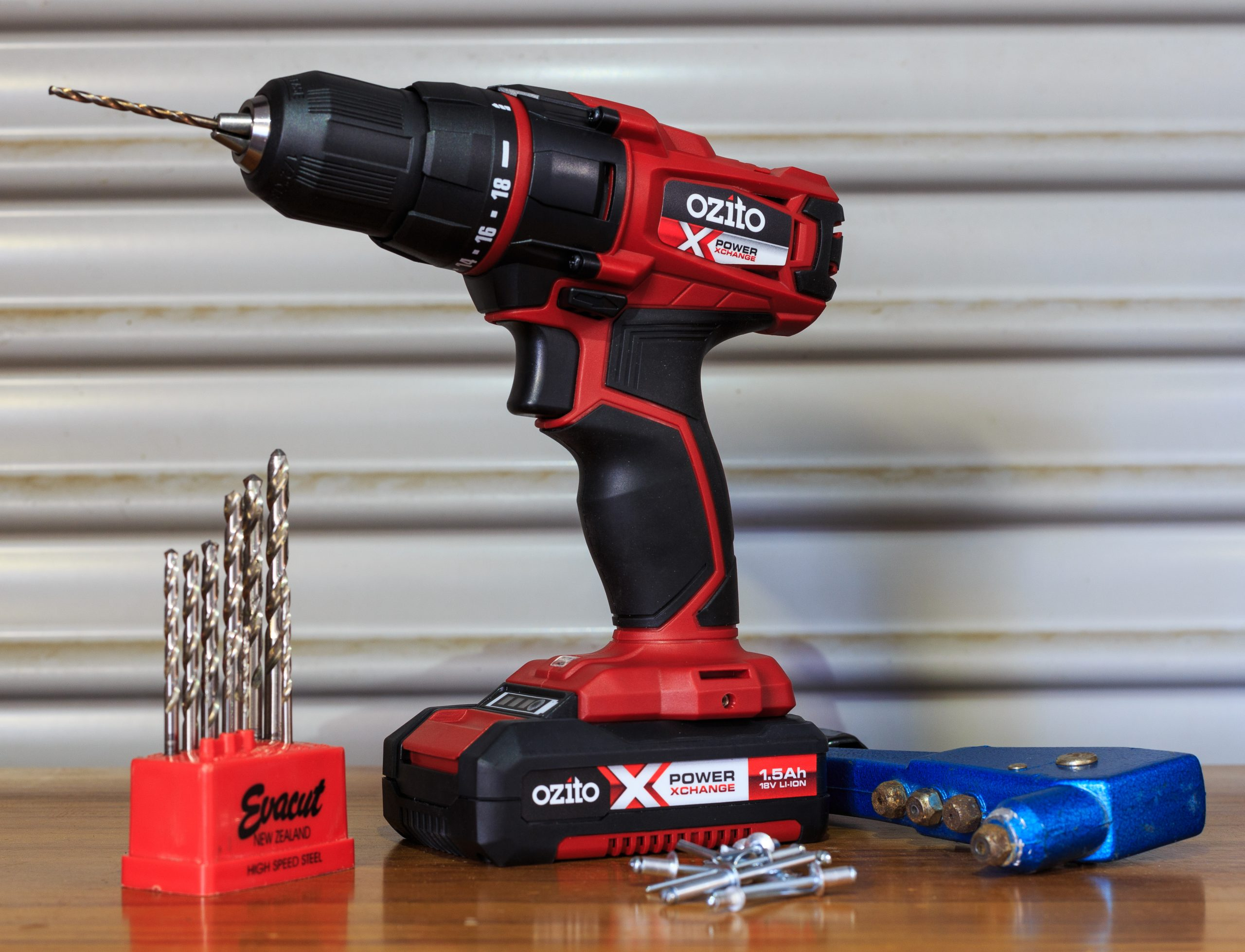 An 18V cordless drill is essential in your RV toolkit
