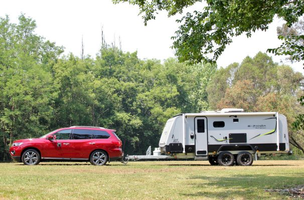 How to level a caravan or trailer