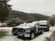 How to keep warm, caravanning in winter