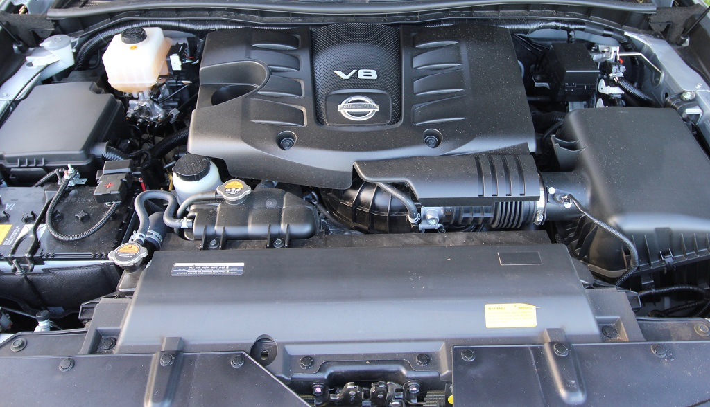 2020 Nissan Patrol V8 engine